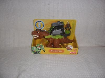 Fisher Price Imaginext Dinosaur Motorized T-Rex New