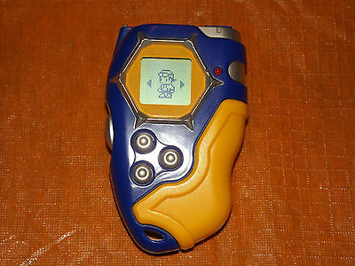 Bandai 2002 Digimon Digivice D-Tector Blue & Yellow D4 - Works Great! Cosplay!