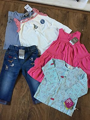 Next  Girls Clothes Bundle  Brand New With Tags 12-18 Months