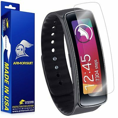 Screen Protectors ArmorSuit MilitaryShield - Samsung Gear Fit Screen Protector -