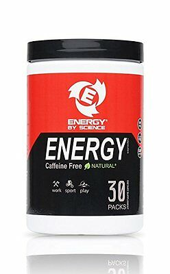 Energy Supplement Natural Energy Boosting Pills ENERGY BY SCIENCE,.Caffeine Free