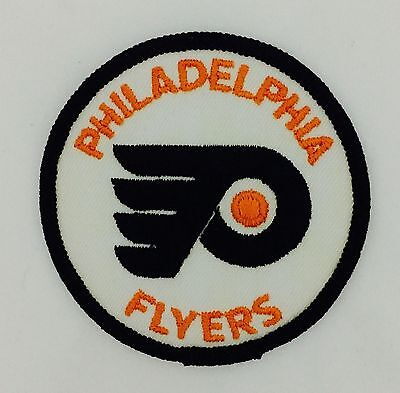 """Philadelphia Flyers Vintage Embroidered Sew-On Patch (NOS) 3"""" x 3"""" NHL"""