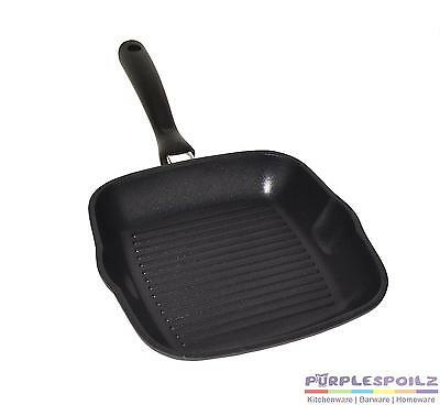 Skillet Grill Pan Bbq Grillpan Ribbed Griddle Bottom Cast