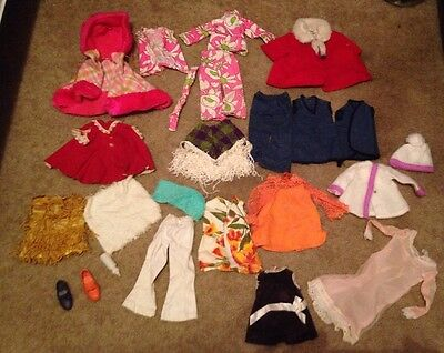 vintage doll clothes lot Includes Chatty Cathy