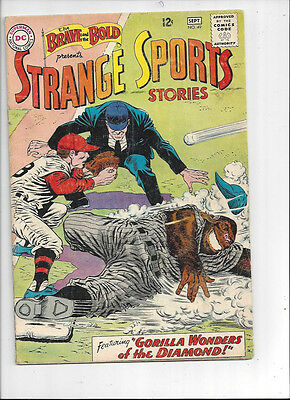 The Brave and the Bold #49/SIlver Age DC Comic Book/Strange Sports Stories/VG+