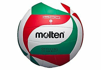 Molten V5M1500 volleyball ball white/green/red colour size 5.
