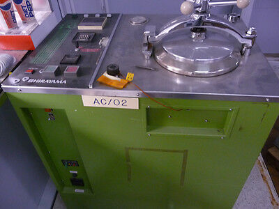 Hirayama PC-242S Steam Pressure Environmental Chamber 200mm