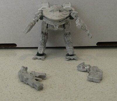 Battletech / Mechwarrior Online King Crab, 4 arms included. MADE OF METAL