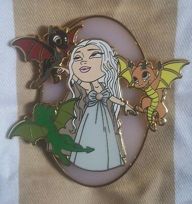 Game Of Thrones Khaleesi Mother of Dragons Fantasy Pin LE 50
