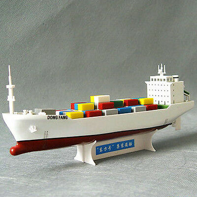 """FuJing model electric assembled model """"Dong Fang""""Container ship"""