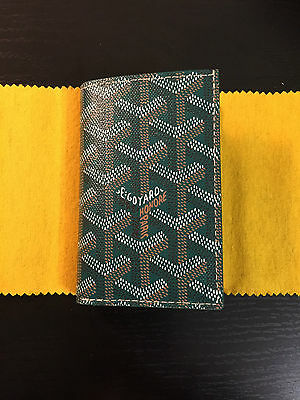 BRAND NEW Goyard St Pierre Wallet - Limited Edition Green