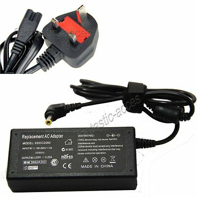 20V 3.25A For Fujitsu Lifebook AH530 A512 AH512 A532 G74 Laptop Adapter Charger