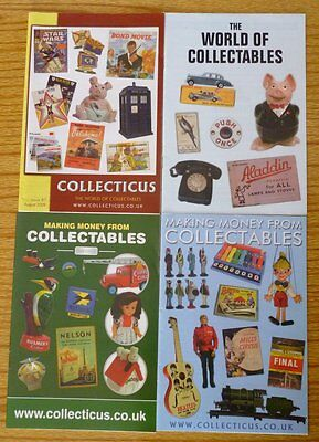 Four Pamphlets On Collectables