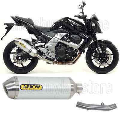 Arrow Kit Muffler Exhaust Racetech Aluminium Kawasaki Z-750 2013 13 2014 14