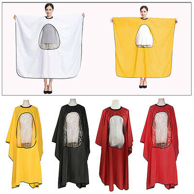 Pro Salon Hairdressing Hairdresser Cloth Cape Barbers Hair Cutting Gown Adults
