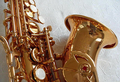 HB Soprano Curve BB Saxophone Yellow Brass Body and Gold Lecquer great deal