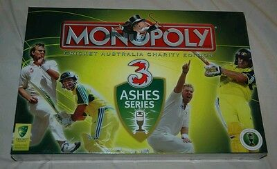 Brand New! Cricket Australia Monopoly. Charity Edition - Warne Ponting Gilchrist
