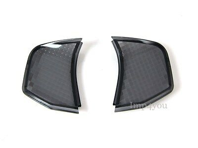 Pair Smoke Rear turn signal indicator blinker lens cover for ZUMA BWS 50 100
