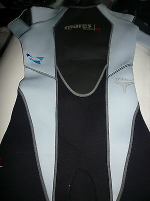 Shorty wetsuit Mares Trilastic ladies' size 2 (small)