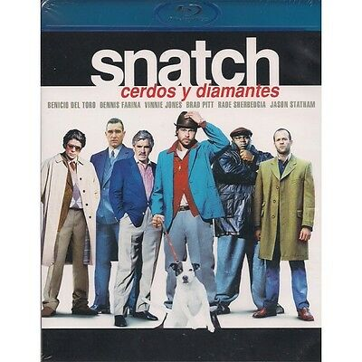 Snatch - Cerdos y diamantes (Bluray Nuevo)
