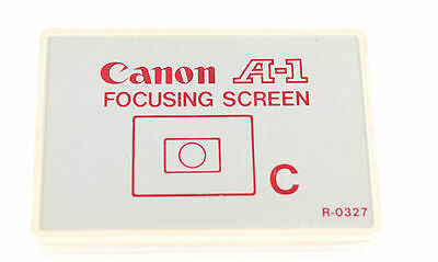 Canon A-1 Focusing Screen All Matt  C Type  New Made By Canon