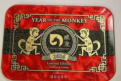 Lucky Dragon Casino, Las Vegas, NV. Year of The Monkey 2016 Casino Plaque #99