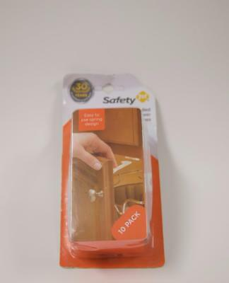 Safety 1st Spring n' Release Latches 10 Pack