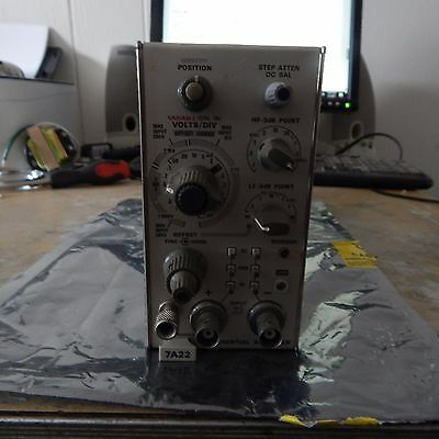 Tektronix 7A22 Differential Amplifier Plug-In Module Assembly, Free Shipping