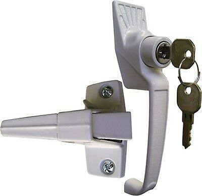 Ideal Security Inc. SK12 Pushbutton Lock Keyed White