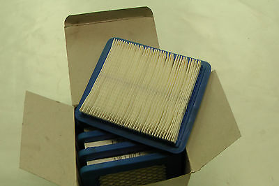 5 x GENUINE BRIGGS AND STRATTON  AIR FILTERS - 491588S (4101)