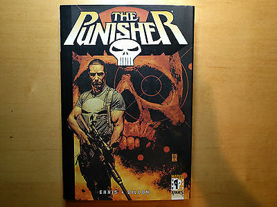 The Punisher Vol 1 Marvel Knights Hardcover (HC) Welcome Back, Frank