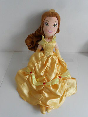 """DISNEY'S BEAUTY & THE BEAST """"BELLE"""" 20"""" SOFT TOY - by THE DISNEY STORE"""
