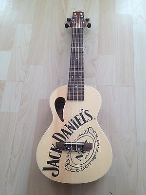 Ukulele- Jack Daniels - Concert Size- Complete With Quality Case