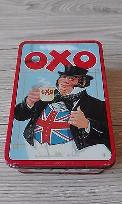 Vintage Tin Oxo Cubes - 285 gr tin used to contain 48 stock cubes,