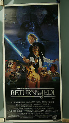 Star Wars - RETURN OF THE JEDI original authentic Poster Style B 1983