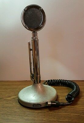 Vintage Astatic D-104 Microphone w/ T-UG8 Stand