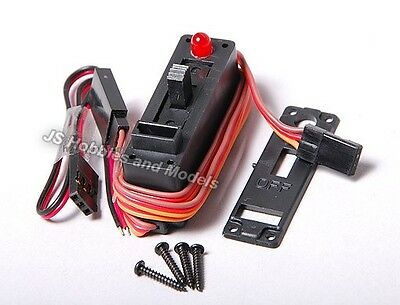 RC Plane/Aircraft - Receiver/System on/off Switch  - With LED Indicator