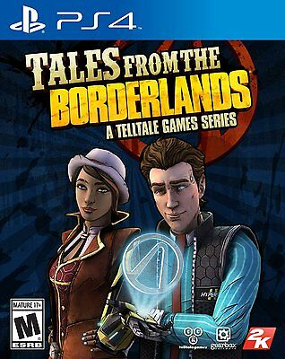 Tales From the Borderlands -- Sony PlayStation 4 PS4 -- BRAND NEW & SEALED