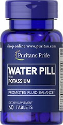 Water Pill with Potassium x 60 Tablets  - 24HR DISPATCH