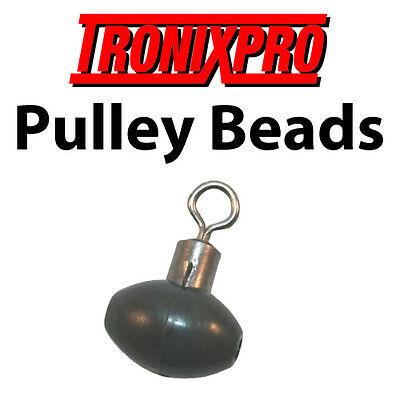 10 Zig Pulley Slider Swivel Rig Beads For Coarse Sea Fishing Bait Clip Line Rigs