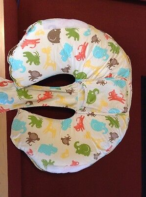 Leachco cuddle-U nursing pillow baby infant feeding pillow and cover