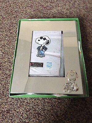 Charlie Brown Peanuts Collection silver frame by LUNT