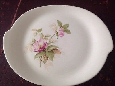 """Glamour The American Limoges China Co Briar Rose GNL pattern 14"""" serving platter"""