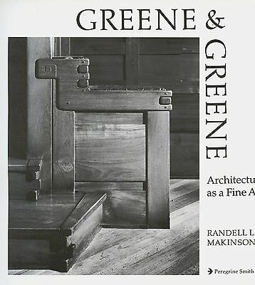 Green & Green Architecture - Design Elements Floor Plans / Illustrated Book