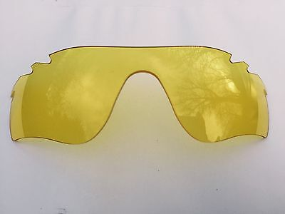 New Hd Night Vision Yellow Replacement Oakley Radarlock Path Lens & Pouch