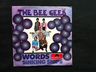 """The Bee Gees - Words (7"""" Singles) NEAR MINT!"""