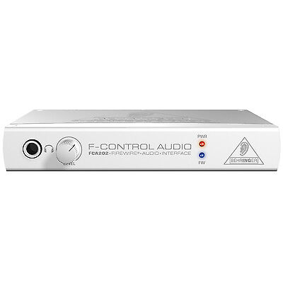 Behringer F-CONTROL AUDIO FCA202 FireWire Audio Interface
