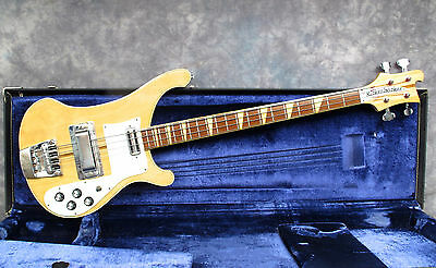1973 Rickenbacker 4001 - Mapleglo - Checkerboard Binding - Andy Baxter Bass