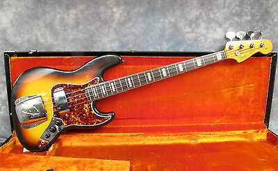 1966 Fender Jazz Bass -  Sunburst -  Andy Baxter Bass