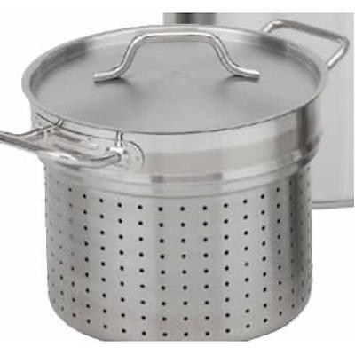 Stainless Steel Pasta Cooker with Lid, 20 qt  Royal Industries